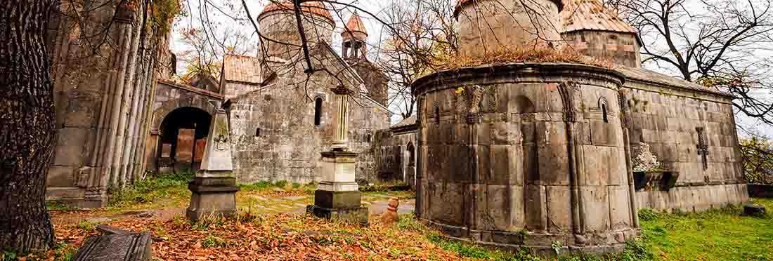 Monastery of sanahin in armenia