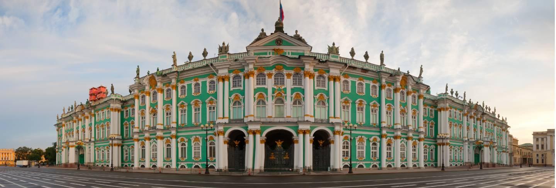 Panorama of winter palace