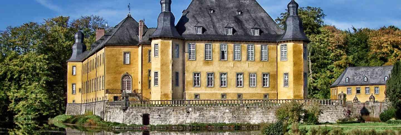 Landmark juchen germany castle dyck building