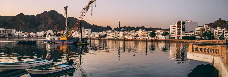 Port of muscat in oman