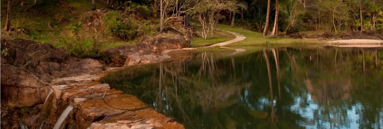 Mountain pine ridge reserve, waterfall