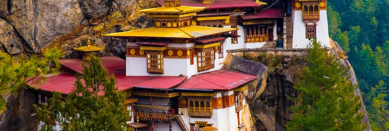 Tiger monastery in paro bhutan