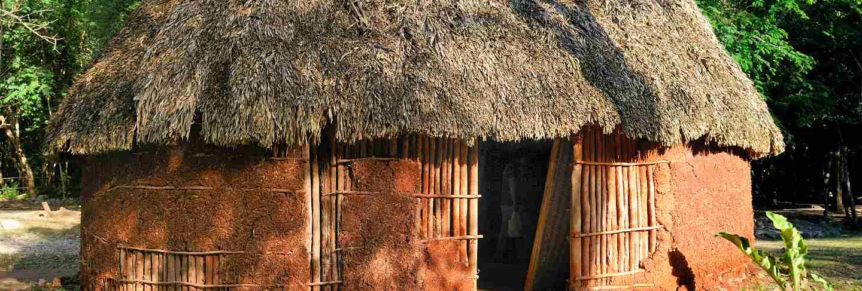 Traditional mayan home