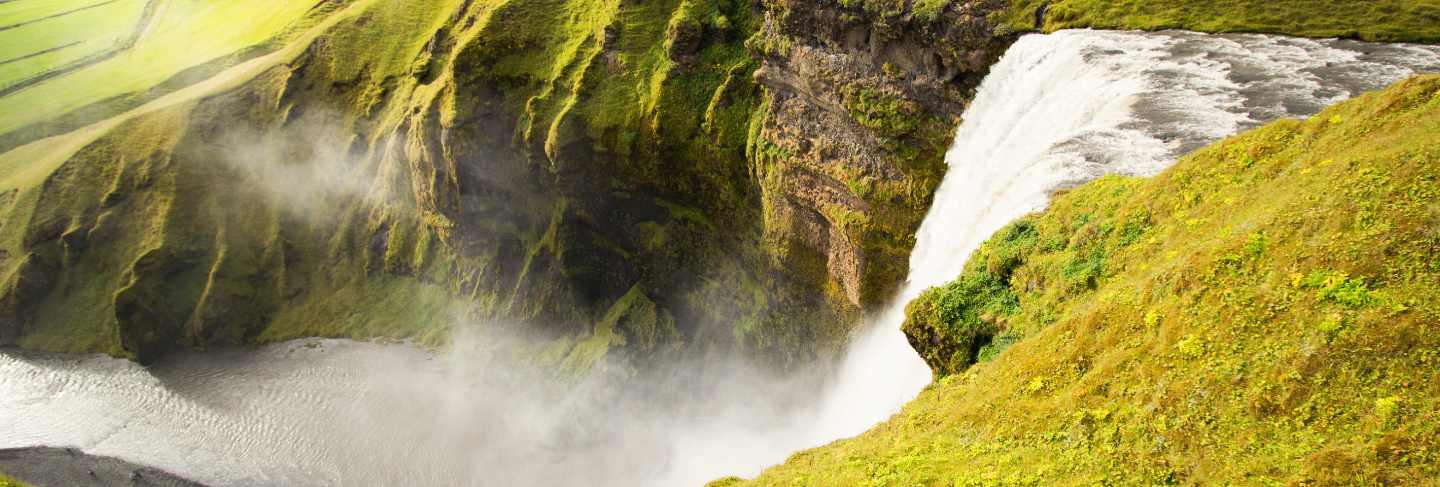 Iceland's waterfall