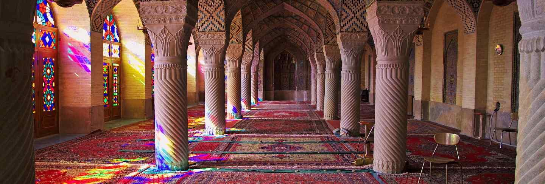 Nasir-ol-molk mosque in shiraz, Iran