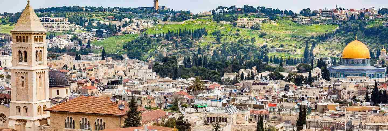 View of jerusalem old city