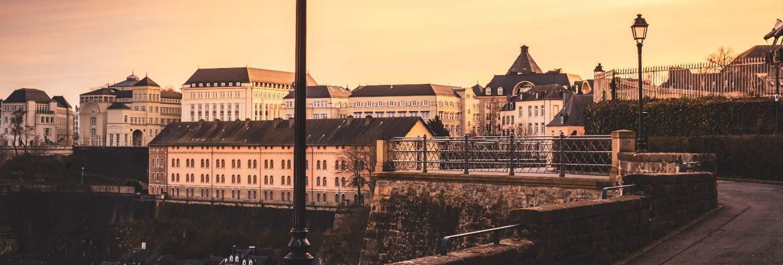 Chemine de la corniche in luxembourg city
