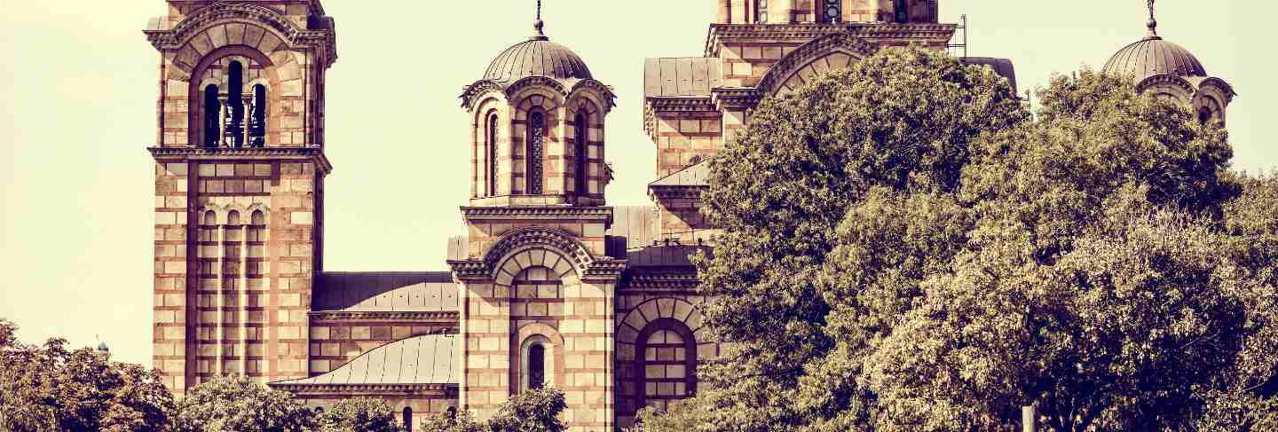 St. mark's church. belgrade, serbia