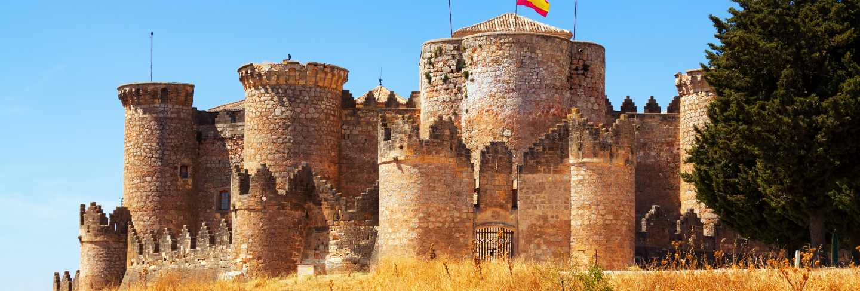 Mudejar castle in belmonte