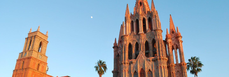 Churches mexico church de san miguel allende