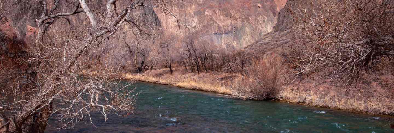 Charyn canyon in almaty region of kazakhstan