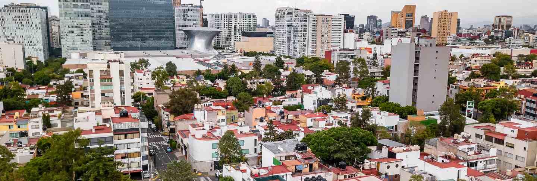 Mexico city panoramic view - polanco
