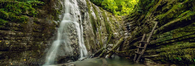 Erfelek waterfalls in turkey