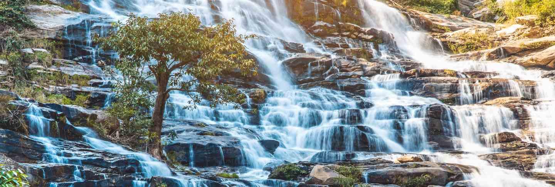Mae ya waterfall doi inthanon, chiang mai thailand