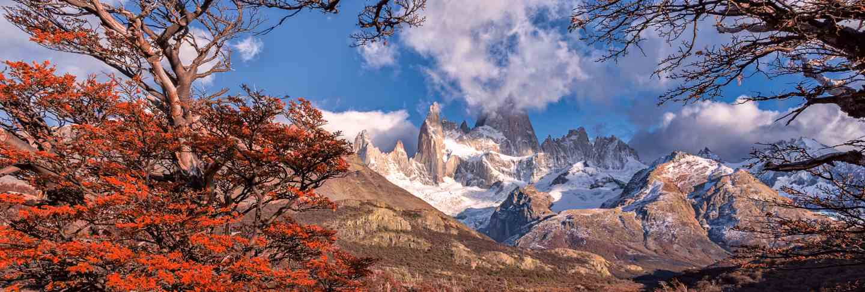 Los glaciares national park, santa cruz province, patagonia, argentina, fitz roy mount.