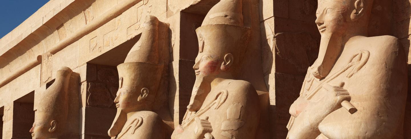 Queen hatshepsut temple in luxor, egypt