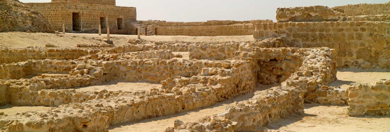Qal'at al-bahrain, ancient harbour and capital of dilmun civilization in manama, bahrain
