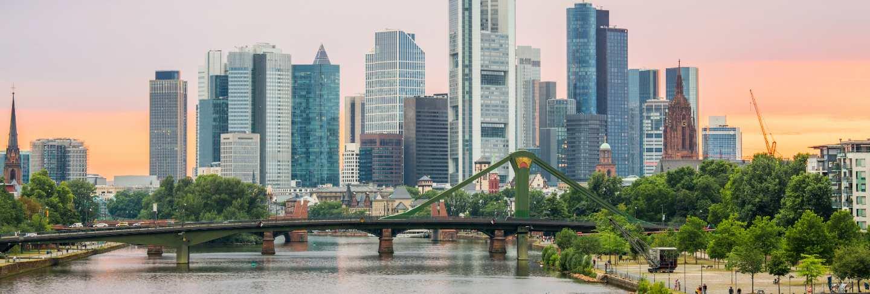 Germany frankfurt skyline