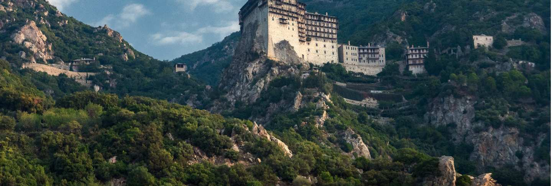Simonopetra monastery in athos